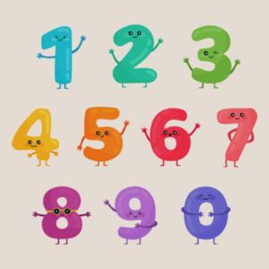 números em japonês
